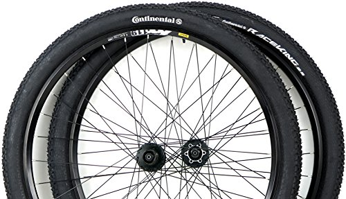 Mavic Rim 29er Mountain Bike Wheels with Disc Brake Shimano Hubs PLUS Free Continental 29x2.2