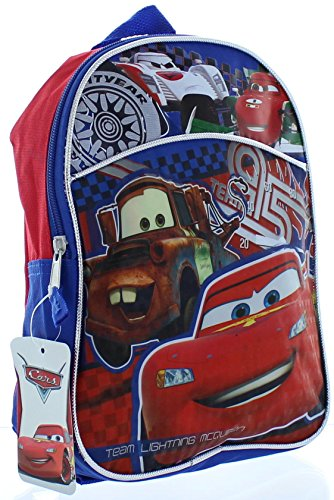 "Disney Pixar Cars 11"" Toddler Mini Backpack - 1"