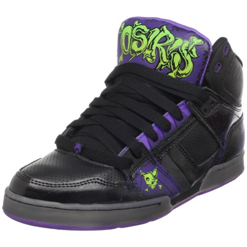 Osiris Men's NYC 83 Skate Shoe,Purple/Lime/Maxx242,9 M US