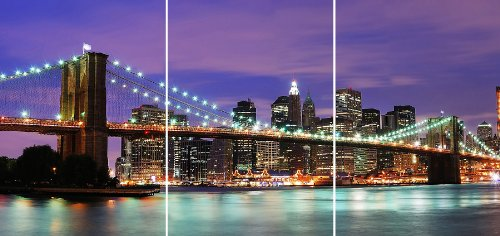 Simple Crearreda CR New York Panoramic Wall Decal