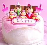 ひな祭りシフォンケーキ 【シフォンケーキの店 ハンプティ・ダンプティ】 ランキングお取り寄せ