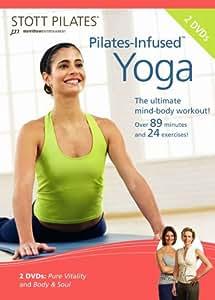 STOTT PILATES Pilates-Infused Yoga DVD 2 DVD Set