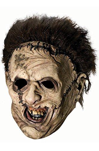 [Brand New Texas Chainsaw Massacre Leatherface Vinyl Child Mask] (Texas Chainsaw Massacre Costume For Kids)