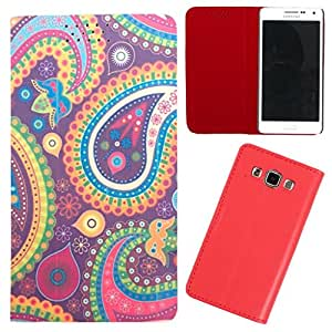 DooDa - For LG G3 BEAT (D722K) PU Leather Designer Fashionable Fancy Flip Case Cover Pouch With Smooth Inner Velvet