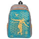 #10: Lutyens Polyester Aqua Grey School Bag(21Litre)(Lutyens_269)