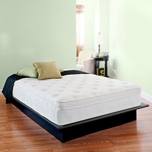Night Therapy Euro Box Top Spring Mattress Night Therapy 13″ Deluxe Euro Box Top Spring Mattress – Full ...