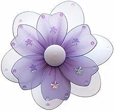 Hanging Flower 8quot Medium Purple Lavender Multi-Layered Nylon Flowers Decorations Decorate Baby Nu