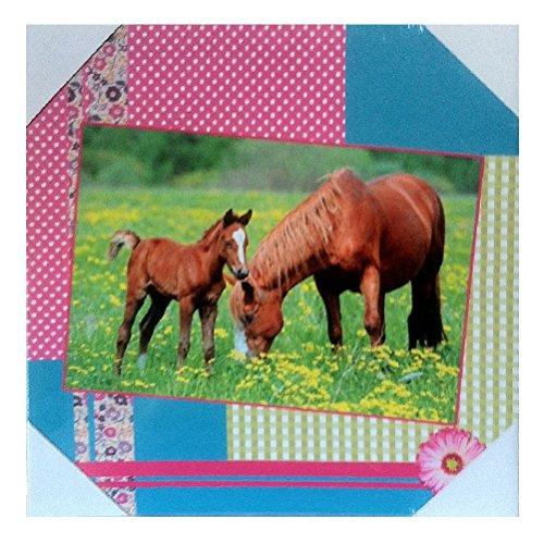 Bild auf Leinwand, mit Rahmen, Pferd
