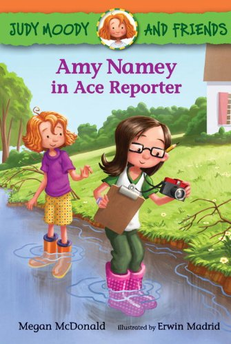 Amy Namey in Ace Reporter (Judy Moody and Friends)