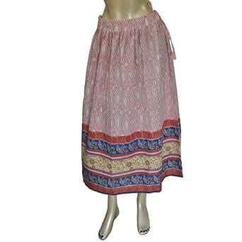 Informelle Damebekleidung,langer Rock aus Indien(XS/32)