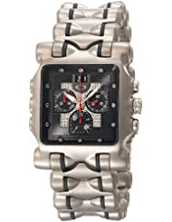 Oakley Men's 10-222 Minute Machine Diamond Dial Limited Edition Titanium Chronograph Watch