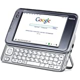 """Nokia N810 Portable Personal Communicator/Internet Tablet/Wi-Fi Pocket PC/MP3/MP4/Audio/Video Player with 4.3"""" LCD Widescreen/Qwerty Keyboard/Webcam/Built-in Microphone/GPS Navigator"""