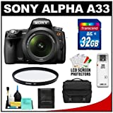 Sony Alpha A33 SLTA33L 14.2 MP Translucent Mirror
