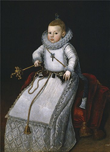 'Moran Santiago La Infanta Margarita Francisca Hija De Felipe III Ca. 1610 ' Oil Painting, 12 X 17 Inch / 30 X 42 Cm ,printed On Polyster Canvas ,this High Definition Art Decorative Prints On Canvas Is Perfectly Suitalbe For Gym Gallery Art And Home Artwork And Gifts