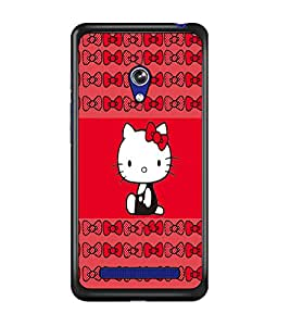 PrintDhaba Kitty D-4544 Back Case Cover for ASUS ZENFONE 5 A501CG (Multi-Coloured)