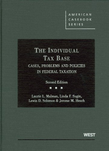Malman, Sugin, Solomon, and Hesch's The Individual Tax...
