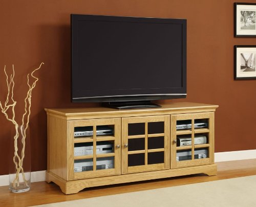 Cheap Altra Natural TV Stand For 60 Inch TV's – Altra Industries – 1169296 (B007N6QM9M)