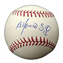 Autographed Alfonso Soriano MLB Baseball (MLB Authenticated)
