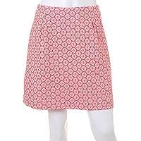 (クリアインプレッション)Clear Impression サークルレース柄ジャガードスカート