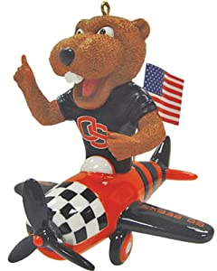 NCAA Oregon State Beavers Mascot Airplane Ornament