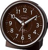 CITIZEN ( シチズン ) 電波 目覚まし 時計 エフライトR435 夜間自動点灯 ブラウン 4RL435-006