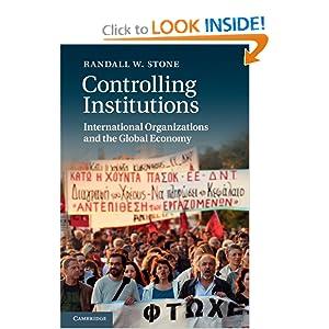 BOEK: Controlling Institutions - | BESLIST.nl | 9780521183062