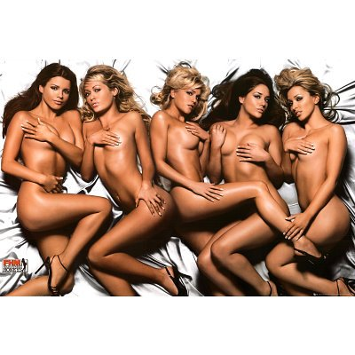 Hush Naked Girls - Party / College Poster - 24 X 36 Poster Print Collections Poster Print, 36x24 Poster Print, 36x24