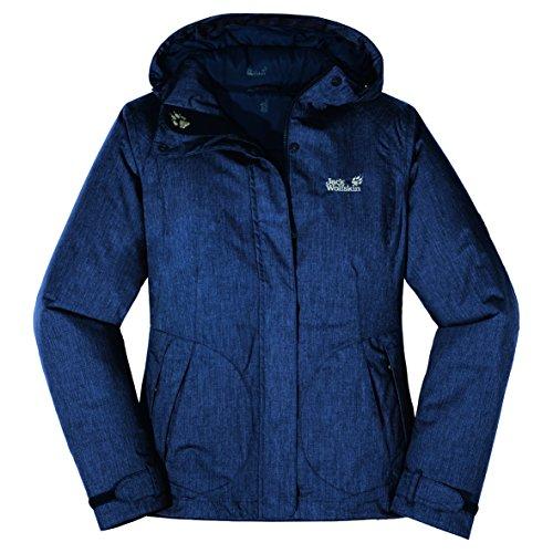 Jack Wolfskin Damen Jacke Wave Hill Jacket Women, night blue, S, 1000415302