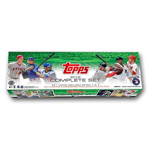 2012 Topps Factory Sealed Baseball Cards Set HTA HOLIDAY Version 661 Cards Plus BONUS and Bryce Harper RC