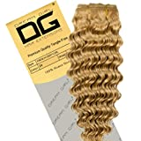 Dream Girl 16 inch Colour 27 French Deep Curl Hair Extensions