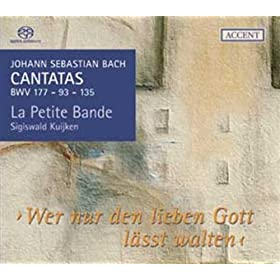 "Cantate ""Ach Herr, mich armen S�nder"" BWV 135: ""Tr�ste mir, Jesu, mein Gem�te"""