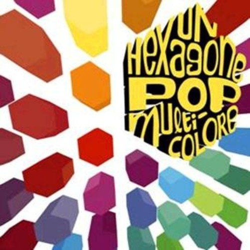 Un Hexagone Pop Multicolo