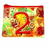 My 2 Cents Coin Purse by Blue Q Novelty , 4x3