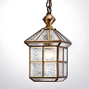 Country Rustic Copper House Bedroom Pendant Light Dining Room Ki