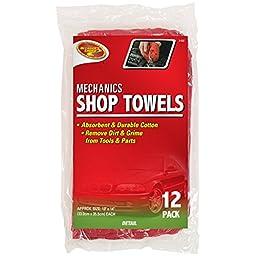 Detailer\'s Choice 3-537 Mechanics Shop Towels - 12-Pack