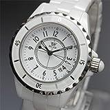 AC-W-BCG55-S レディース腕時計 レディースサイズが新登場 フルセラミック モノトーンスタイル 腕時計 Bel Air collection[ベルエアコレクション] ホワイト