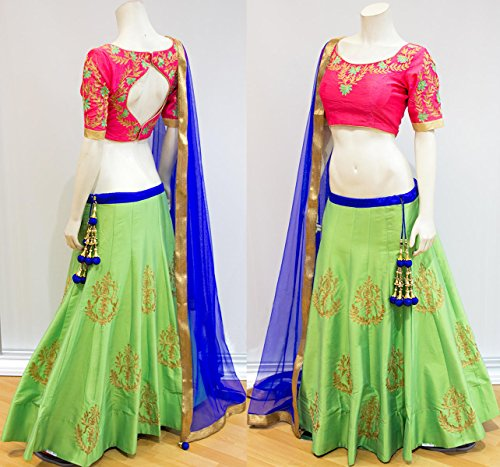 Fabron-Two-tone-silk-lehenga-with-pink-embroidered-blouse-and-dupatta-set
