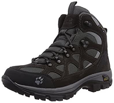 Jack Wolfskin ALL TERRAIN TEXAPORE WOMEN, Damen Trekking- & Wanderstiefel, Schwarz (shadow black 6101), 35.5 EU (3 Damen UK)