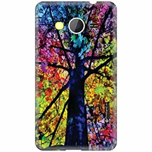 Printland Designer Back Cover for Samsung Galaxy Core 2 - Mixed Colors Case Cover