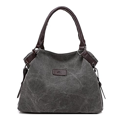 BYD - Donna Bag Borse a spalla Mutil Function Bag Crossbody Bag Borse Tote Borse a mano with PU Leather Handle