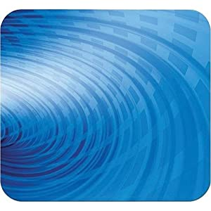 HandStands Blue Swirl Deluxe Mouse Pad