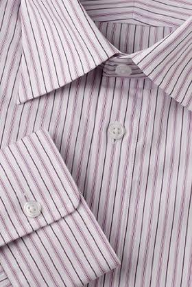 Collezione Pure Cotton Twin Stripe Shirt [T11-3437F-S]