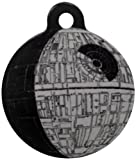 Platinum Pets Star Wars 1.5-Inch Smartphone Pet ID Tag with GPS, Death Star Design