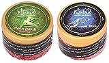 pegs'N'pipes Alshan Gel 2 Bottles Assorted Hookah Flavor (Paan Rasili - 50 g, Silver Fox - 50 g, Pack of 2)