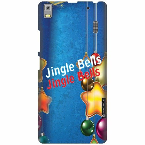 Printland Designer Back Cover For Lenovo A7000 PA030023IN - Jingle Bells Cases Cover  available at amazon for Rs.399