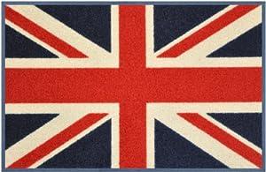 wash+dry designer floor mat - Union Jack - 75 x 50 cm