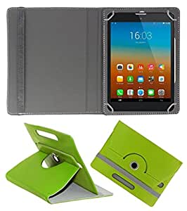 Gadget Decor (TM) PU LEATHER Rotating 360° Flip Case Cover With Stand For Karbonn Smart Ta-Fone A39 HD - Green