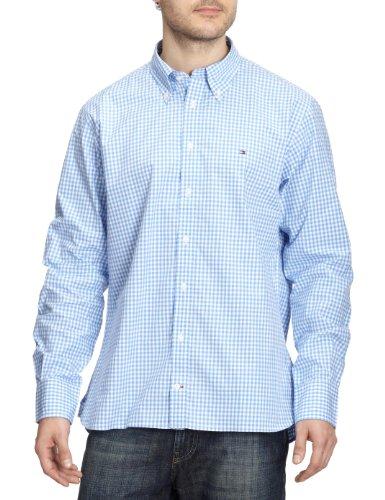 Tommy Hilfiger Men's Casual Shirt M Blue