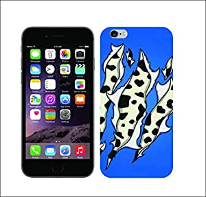 Galaxy Printed 1364 Animal ripped print Cow Hard Cover for Apple iphone 5