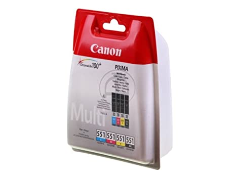 Canon Pixma IP 8700 Series (CLI-551 / 6509 B 009) - original - Ink cartridge multi pack -
